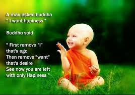 Buddha Quotes On Happiness Impressive Buddha's Quote Kill Ego To Acheive Happiness