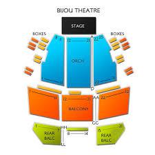 Bijou Seating Chart Bijou Theatre Knoxville 2019 Seating Chart