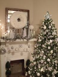 Silver Christmas Theme-love the white branches
