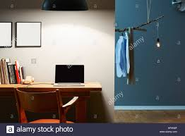 modern interior office stock. Home Office And Dressing Room Modern Interior Partitioning Stock