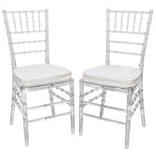 Set of Eight Vintage Acrylic Chairs with Bamboo Motif 1