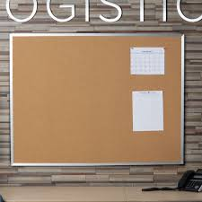 Cork Bulletin Board Universal Unv43614 36 X 48 Natural Cork Board With Aluminum Frame