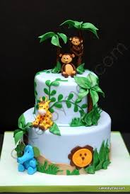 Safari Baby Shower Cake  Baby Boy Shower  Pinterest  Safari Baby Shower Safari Cakes