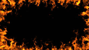 a burning frame of fire stock fooe