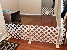diy lattice pet gate petdiyscom