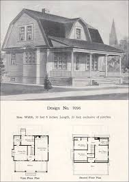 gambrel roof house plans. Photo 6 Of 9 William A. Radford - 1908 House Plans Dutch Colonial Revival Barn House. Gambrel Roof