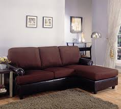 robert collection dark brown sectional