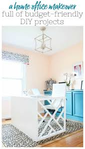 Office diy projects Office Bulletin Board Home Office Makeover With Budgetfriendly Diy Projects That Look Highend An Office Makeover On Budget With Lots Of Office Diy Decor officedecor Pinterest Home Office Makeover Full Of Budgetfriendly Diy Projects Rain