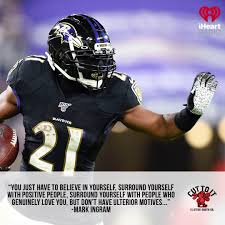 Latest podcast with Mark Ingram II is ...