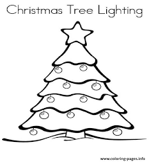 Small Picture Christmas Lights 4 Coloring pages Printable