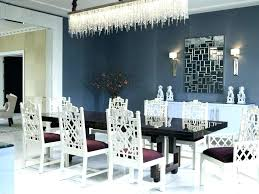 rectangle dining room chandelier shed nickel crystal chandelier rectangle over long rectangular dining table with classic
