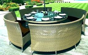 large round outdoor table large round patio table cover and chairs chic outside outdoor extra large