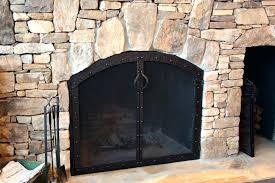 custom fireplace screen s screens dallas tx