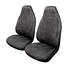 black leopard seat covers