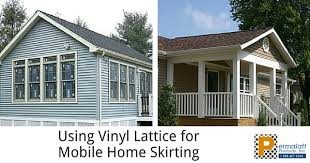 Decorative Mobile Home Skirting
