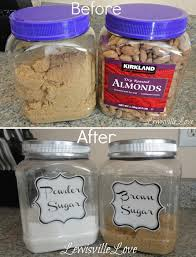 14 re purpose canisters for the pantry home decor ideas