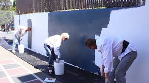 chalkboard finish over any cement or concrete wall complete you