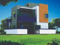 Elevation Design Photos Residential Houses 29 Ft X 45 Ft 3d House Plan And Elevation Design With Interior