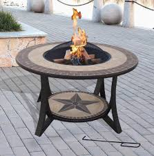 outdoor coffee table fire pit lovely sienna fire pit coffee table outdoor garden patio heater