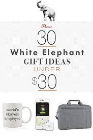 30 white elephant gift ideas under 30