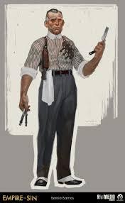 "Denman on Twitter: ""Bernie Barnes. Gangster concept art for Empire ..."