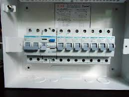 diy wiring a consumer unit and installation distribution board consumer unit