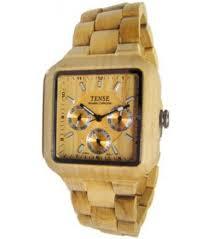tense wood mens light b7305m watch watchco com tense wood b7305m light mens