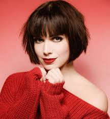 Short Hair Style With Bangs 10 chic short bob haircuts that balance your face shape short 8878 by stevesalt.us