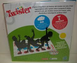 Gioco Da Tavolo Giallo : Twister gioco da tavolo prezzo
