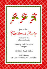 printable christmas invitations