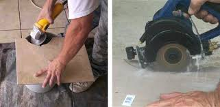 cutting tile shaping curves with a grinder portable wet saw makes curved cuts cutting slate tile cutting tile