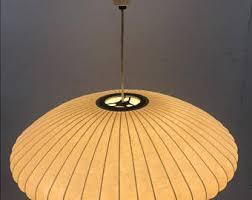 midcentury modern lighting. Mid Century Modern Era, George Nelson Original Hanging Saucer Bubble Light, Ca 1950s Midcentury Lighting E