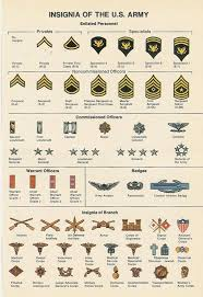 Military Insignia Chart Index Php 550 X 801 Army Ranks Military Ranks Military