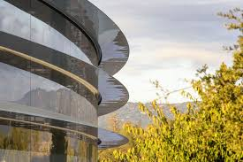 apple employees keep walking into glass