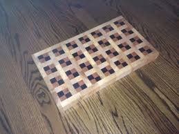 Quilt Pattern End Grain Cutting Board - by bannerpond1 ... & Quilt Pattern End Grain Cutting Board Adamdwight.com
