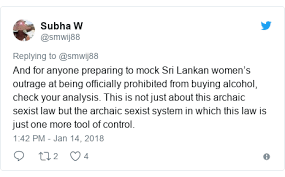Buy 's Sri Rejects Women To Move Lanka Alcohol President Allow WBTTfwq8aF
