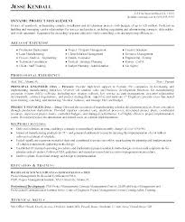 Project Engineer Resume Sample Entry Level Electrical Engineering