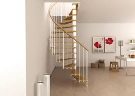 space saving spiral staircase type toscana
