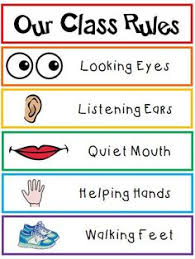 48 Best Preschool Class Rules Images Classroom Rules