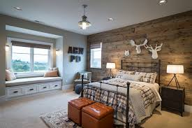 cabin style kids room