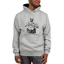 Bitcoin Btc Cryptocurrency Champion Mens Hoodie Haircut Just