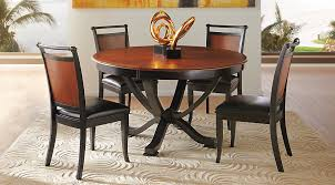 black round dining table and chairs. Black Round Dining Table And Chairs C