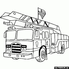 The Most Brilliant along with Gorgeous Fire Engine Coloring Page ...