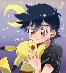 Ash Ketchum and Pikachu   Cute pokemon wallpaper, Pokemon eevee, Ash pokemon