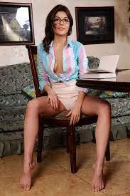 Monika Dee In Brunette Nerd With A Hot Body Met Art Pure Nude Girls