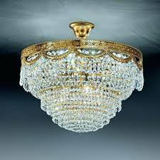 crystal basket chandelier lead for low rooms jessica 3 light flush mount crystal basket chandelier