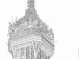 Coloriage Tour Eiffel P1080152 Imprimer Pour Les Enfants