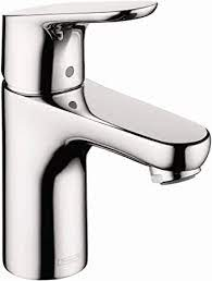 Hansgrohe Focus Modern Upgrade Easy Clean 1 Handle 1 7 Inch Tall Bathroom Sink Faucet In Chrome 04371000 Bathroom Sink Faucets Amazon Com