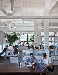really believe this is the future of office design small collaborative areas that employees can stumble across on the way to get coffee base group creative office