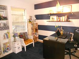 nautical office decor. Anchored Style Home Office #nautical #prep #inspirational #stripes Nautical Decor O